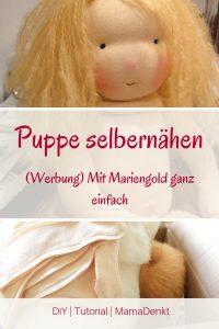 Puppe selbermachen DiY Pin MamaDenkt