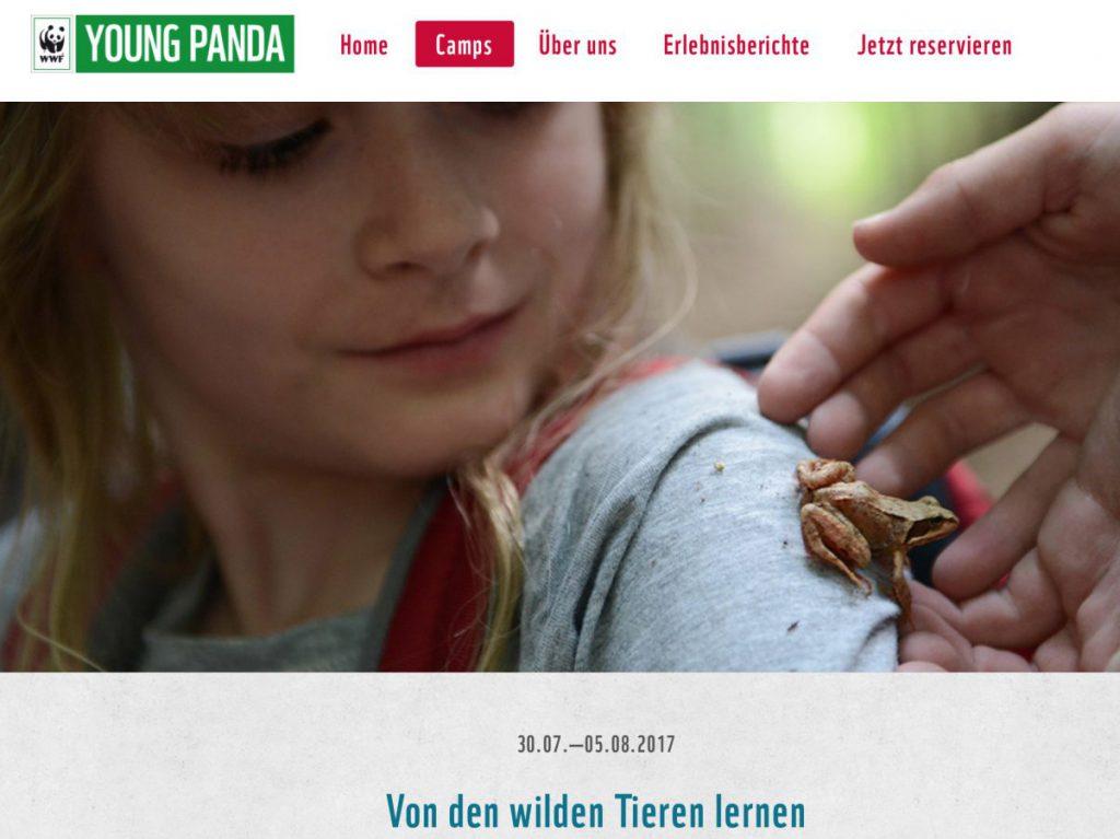 Für kleine Abenteurer: WWF YOUNG PANDA Camps02