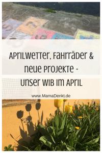 Aprilwetter MamaDenkt Pin