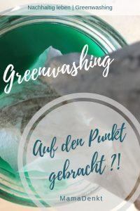 Greenwashing auf den Punkt MamaDenkt