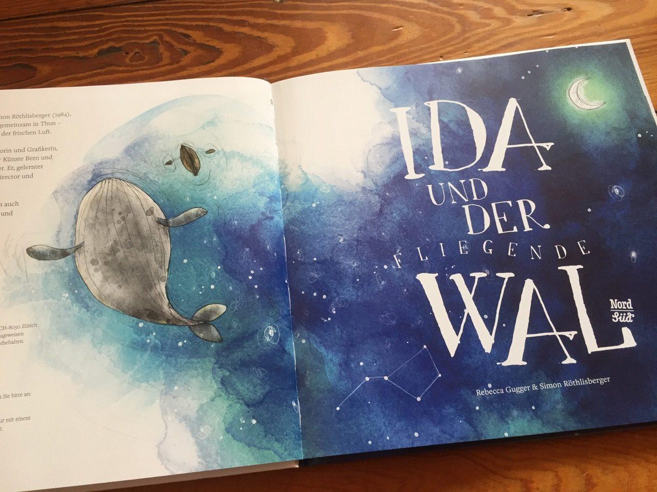 Ida und der fliegende Wal Gugger Röthlisberger NordSued Verlag MamaDenkt 01