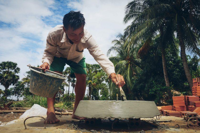 Polarstern Biogasanlage Kambodscha