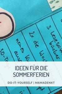 Tipps für die Sommerferien MamaDenkt Pin